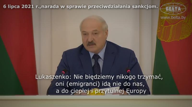 białoruś nielegalna emigracja